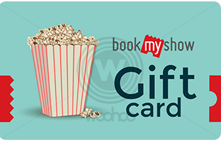 Bookmyshow e gift card