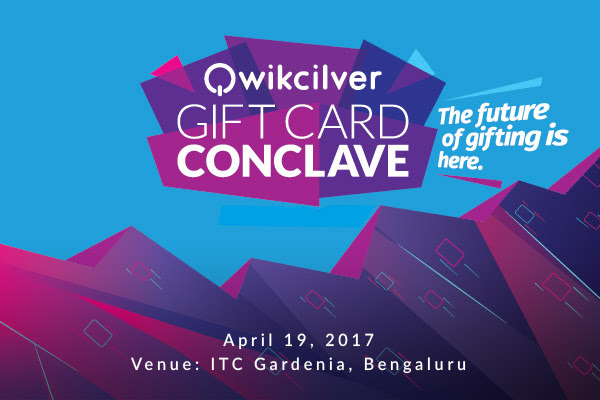 Qwikcilver gift card conclave 2017
