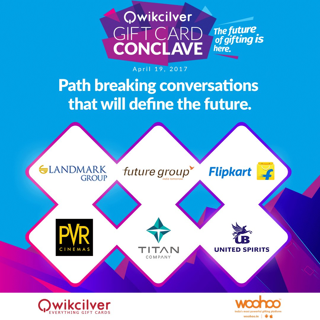 Qwikcilver gift card conclave