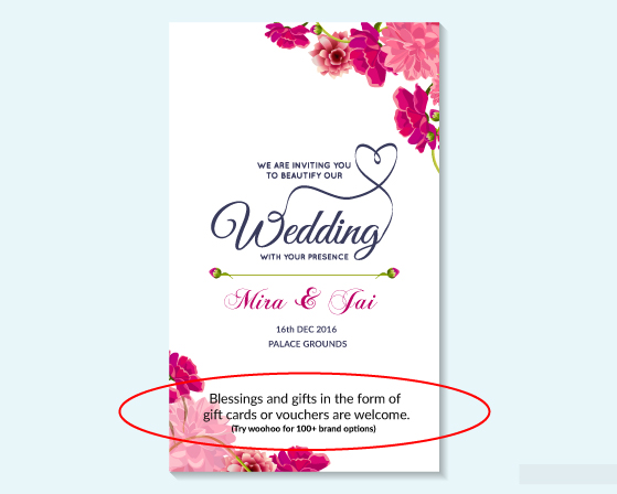 Amount For Wedding Gift Card : Planning your wedding? Heres how you can receive wedding gifts that ...