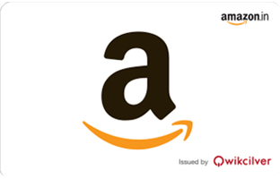 Amazon E-Gift Cards | Starts from Rs 50 | Instant Delivery - Woohoo in