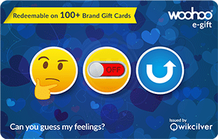 Gift Cards for Valentine