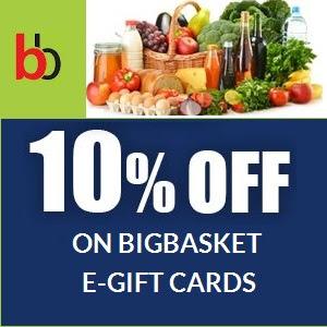 discount on bigbasket gift card