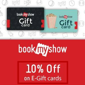 discount on bookmyshow gift cards