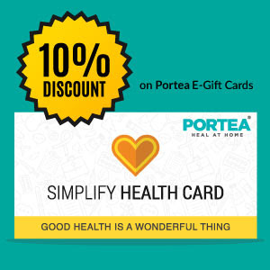 discount on portea gift cards