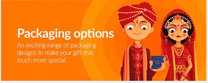wedding gift packaging