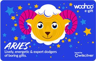 Woohoo Zodiac Card- Aries