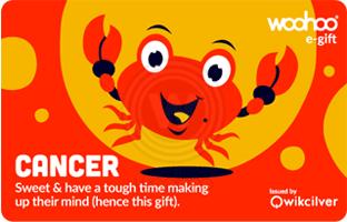 Woohoo Zodiac Card- Cancer