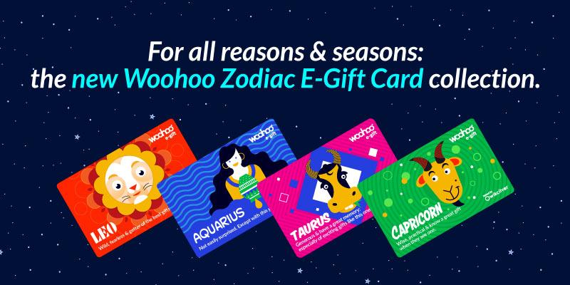 Woohoo Zodiac E-Gift Cards