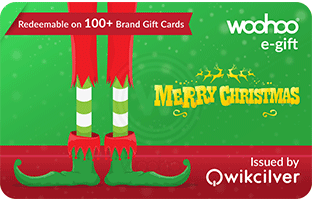 merry xmas gift card