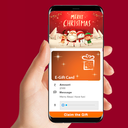 digital gift for christmas