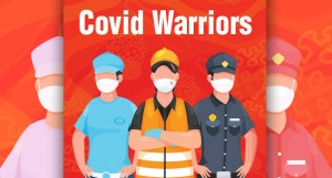 Nurse, doctors , cops and other covid warriors